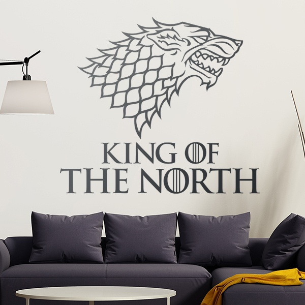 Wandtattoos: King of the North