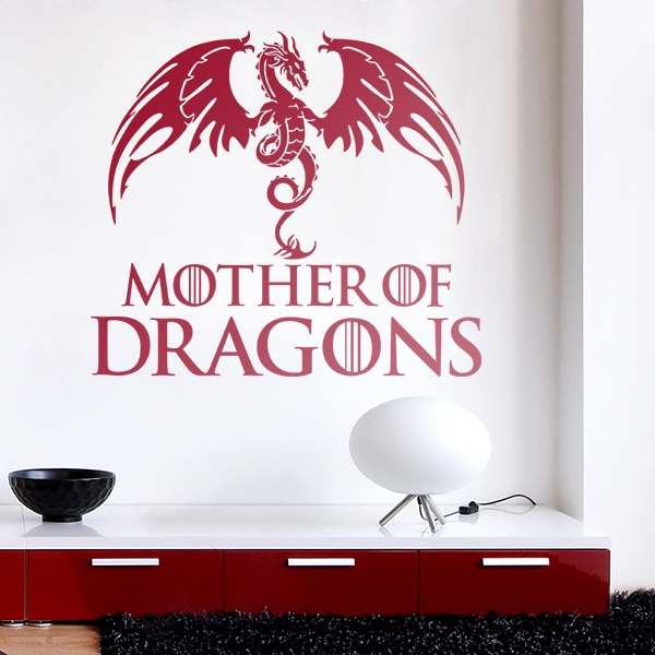Wandtattoos: Mother of Dragons