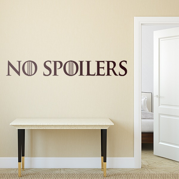 Wandtattoos: No Spoilers
