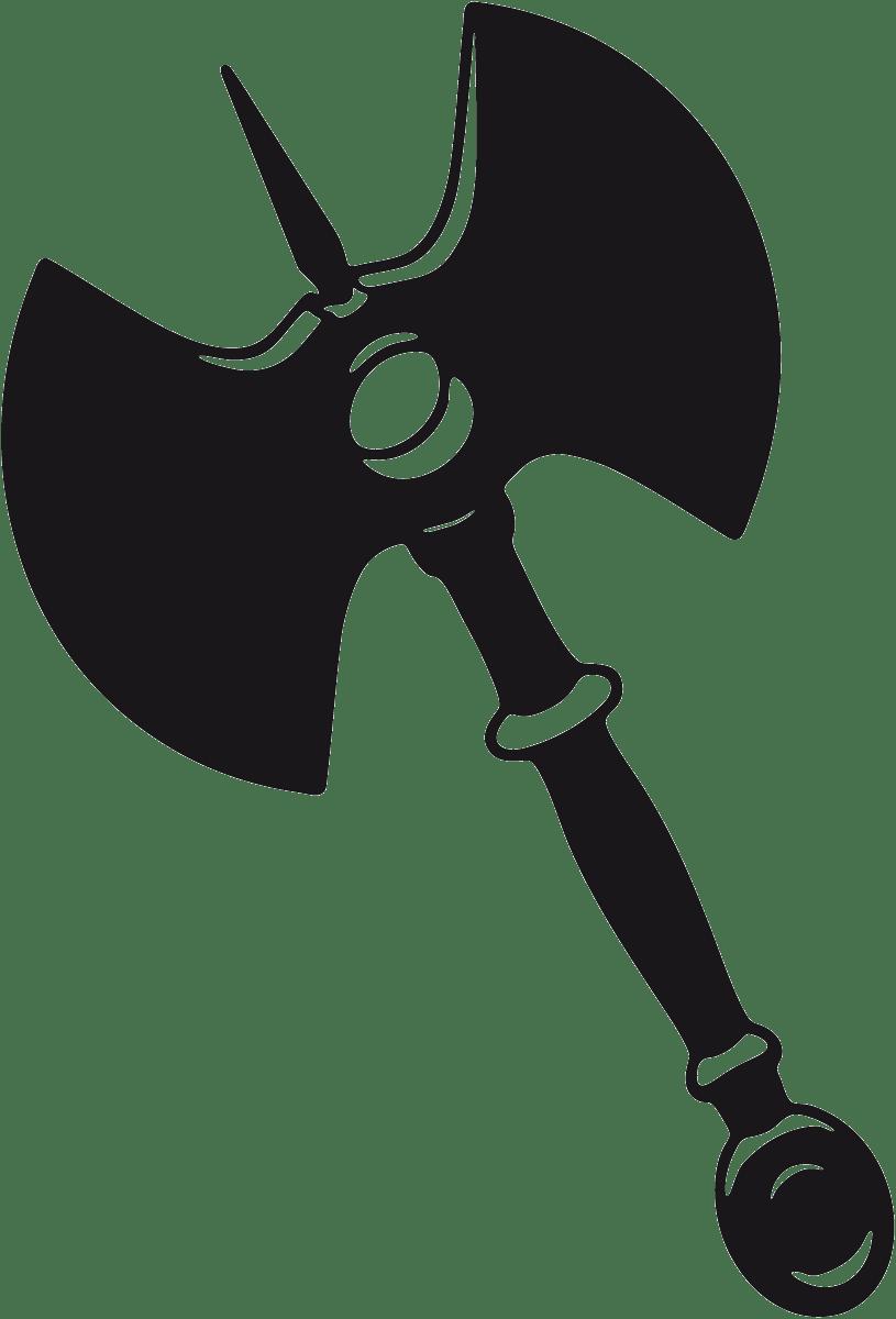 Aufkleber: Waffe 2