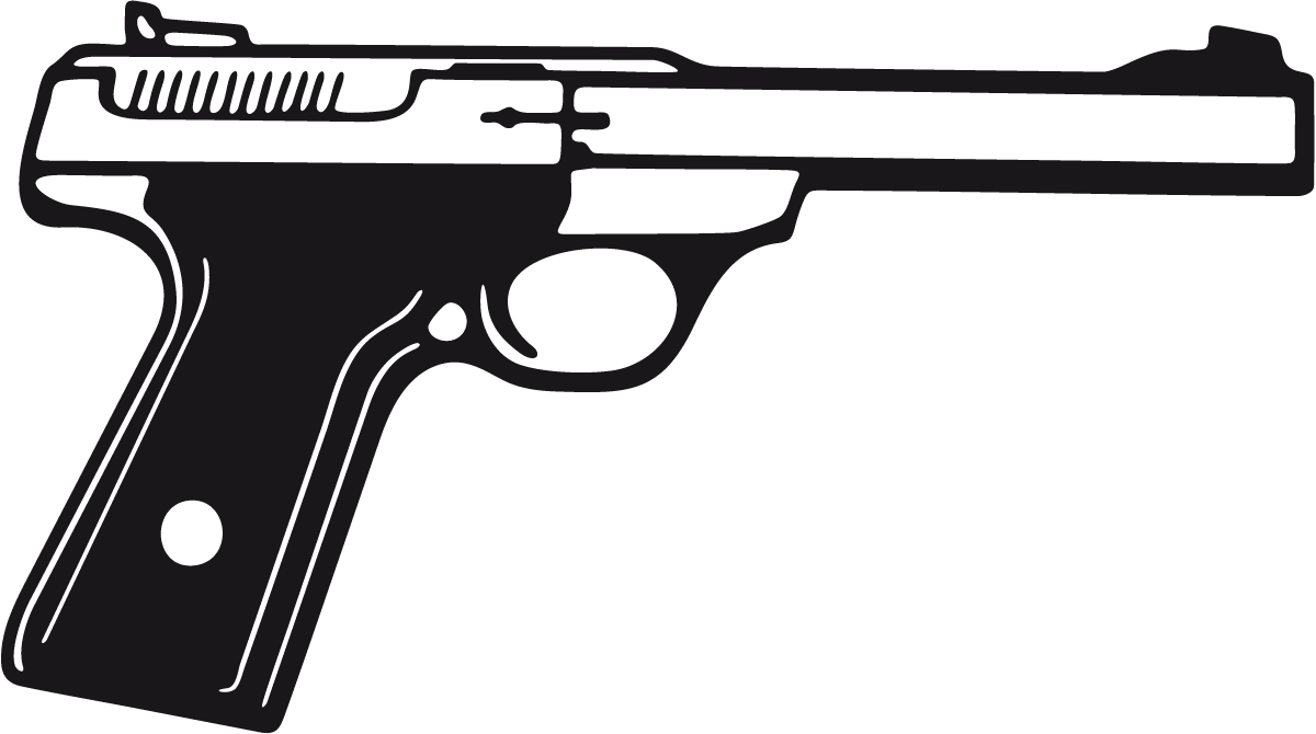 Aufkleber: Waffe 4