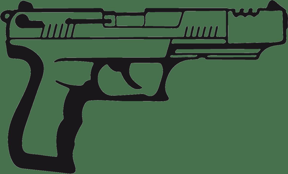 Aufkleber: Waffe 17