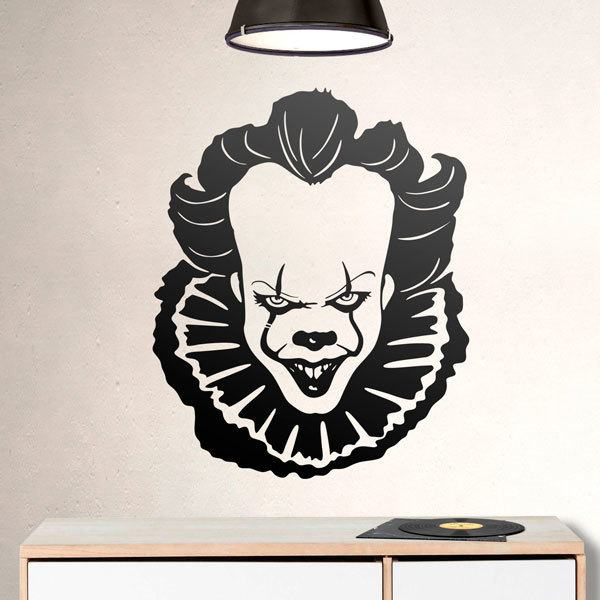 Wandtattoos: Pennywise (It)