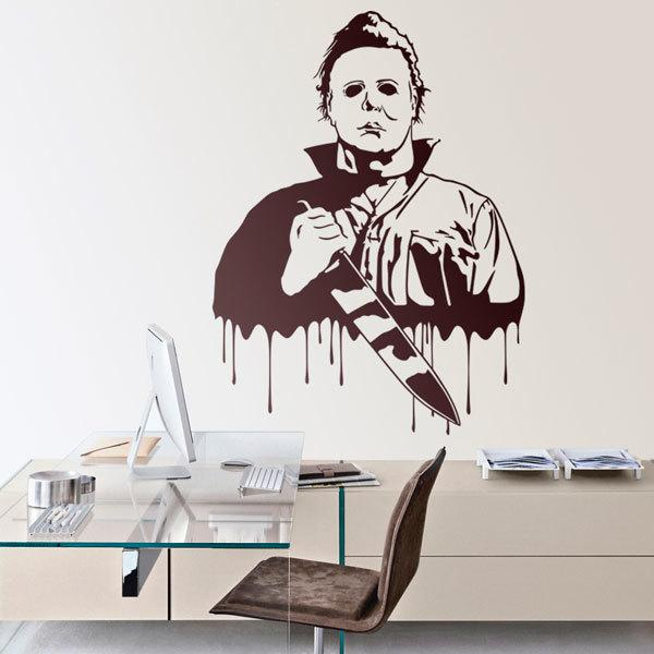 Wandtattoos: Michael Myers (Halloween)