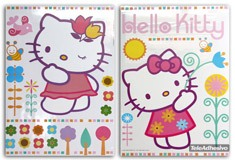 Kinderzimmer Wandtattoo: hello kitty 2 68x96 cm 1