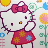 Kinderzimmer Wandtattoo: hello kitty 2 68x96 cm 2