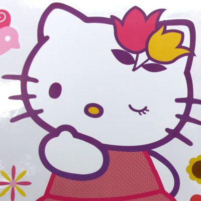 Kinderzimmer Wandtattoo: hello kitty 2 68x96 cm