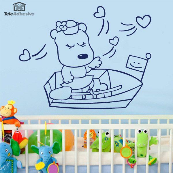 Kinderzimmer Wandtattoo: Marinera