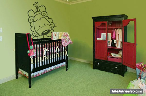 Kinderzimmer Wandtattoo: Lion