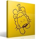 Kinderzimmer Wandtattoo: Lion 3
