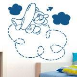 Kinderzimmer Wandtattoo: Plane 2