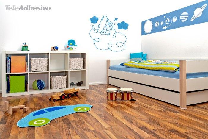 Kinderzimmer Wandtattoo: Plane