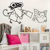 Kinderzimmer Wandtattoo: Pirata 3 0