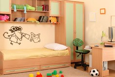 Kinderzimmer Wandtattoo: Pirata 3 2