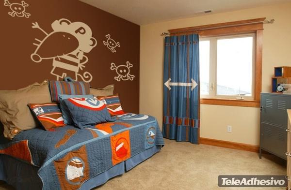 Kinderzimmer Wandtattoo: Pirata 4