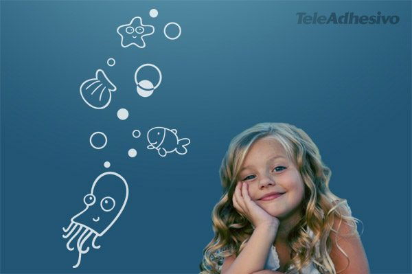 Kinderzimmer Wandtattoo: Lucy