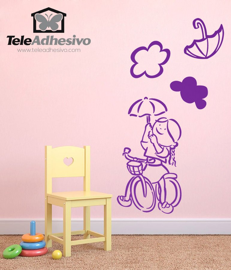 Kinderzimmer Wandtattoo: Jessy