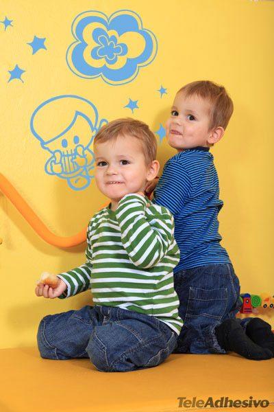 Kinderzimmer Wandtattoo: Marc