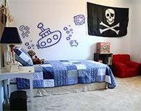 Kinderzimmer Wandtattoo: Submarino 7