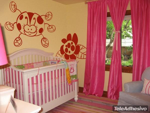 Kinderzimmer Wandtattoo: Mariquita