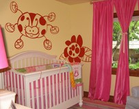 Kinderzimmer Wandtattoo: Mariquita 4