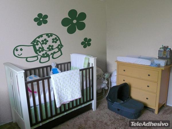 Kinderzimmer Wandtattoo: Tortu