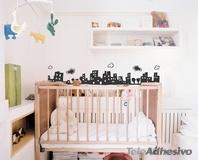 Kinderzimmer Wandtattoo: City 2