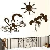Kinderzimmer Wandtattoo: Monito 2
