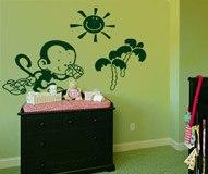 Kinderzimmer Wandtattoo: Monito 3