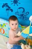 Kinderzimmer Wandtattoo: Monito 4