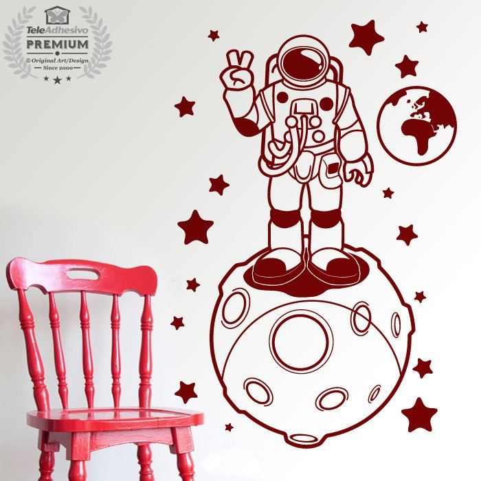 Kinderzimmer Wandtattoo: Astronaut