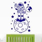 Kinderzimmer Wandtattoo: Astronaut 4