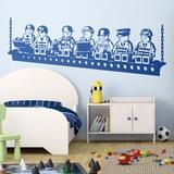 Kinderzimmer Wandtattoo: Construction Lunch 0