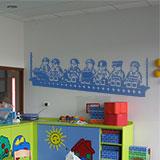 Kinderzimmer Wandtattoo: Construction Lunch 6