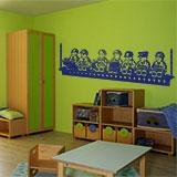 Kinderzimmer Wandtattoo: Construction Lunch 7