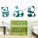 Kinderzimmer Wandtattoo: Die drei Pandas 3
