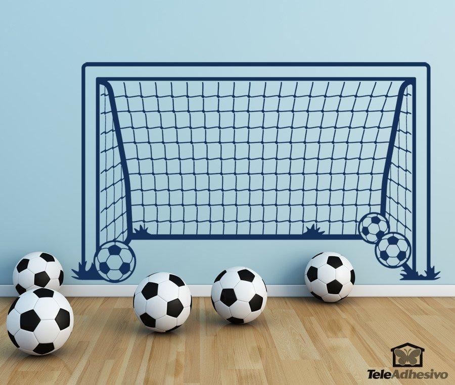 Kinderzimmer Wandtattoo: Fussballtor