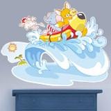 Kinderzimmer Wandtattoo: Tiere auf See 4