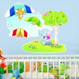 Kinderzimmer Wandtattoo: Drachenfliegen Tiere 4