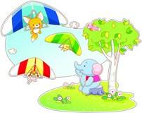 Kinderzimmer Wandtattoo: Drachenfliegen Tiere 5