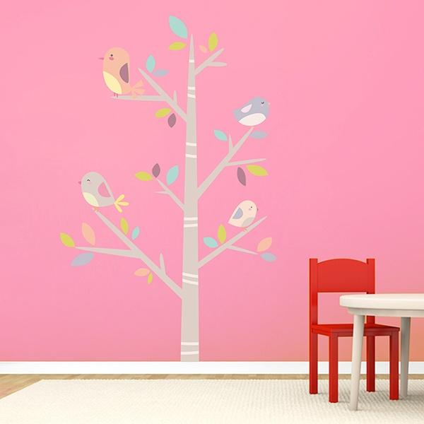 wandtattoo kinderzimmer babyzimmer baum. Black Bedroom Furniture Sets. Home Design Ideas