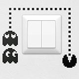 Wandtattoos: Pac-Man 2