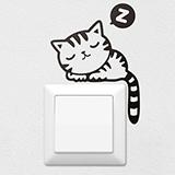 Wandtattoos: Kätzchen 1