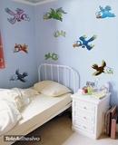 Kinderzimmer Wandtattoo: Vögel 3