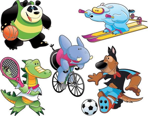 Kinderzimmer Wandtattoo: Sports