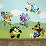 Kinderzimmer Wandtattoo: Sports 0