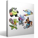 Kinderzimmer Wandtattoo: Sports 2