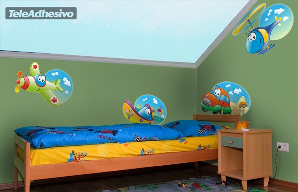 Kinderzimmer Wandtattoo: Ruedavioneta