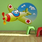 Kinderzimmer Wandtattoo: Ruedavioneta 5