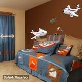 Kinderzimmer Wandtattoo: Avionada 02 3